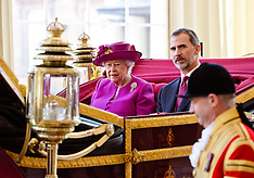 King Felipe VI State Visit to UK 14 July 2017
