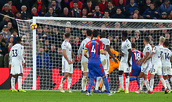 December 26, 2018 - London, England, United Kingdom - London, England - 26 December, 2018.Crystal Palace's Luka Milivojevic hits the post.during English Premier League between Crystal Palace and Cardiff City at Selhurst Park stadium , London, England on 26 Dec 2018. (Credit Image: © Action Foto Sport/NurPhoto via ZUMA Press)