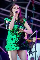Sophie Ellis Bextor  at the Big Feastival 2021 on Alex James' Cotswolds farm, Kingham oxfordshire