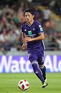 Ryota Morioka pictured in action during the Jupiler Pro League matchday 4 between Rsc Anderlecht and Excel Mouscron on August 17, 2018 in Brussels, Belgium, Photo by Vincent Van Doornick / Isosport/ Pro Shots / ProSportsImages / DPPI
