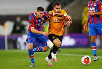 2019 / 2020 Premier League - Wolverhampton Wanderers vs Crystal Palace <br /> <br /> Jonny Otto of Wolverhampton Wanderers and Joel Ward of Crystal Palace at Molyneux.<br /> <br /> Credit COLORSPORT/LYNNE CAMERON