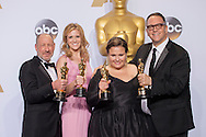88th Academy Awards press room.<br /> Best picture producers <br /> Michael Sugar, Steve Golin, Nicole Rocklin, Blye Pagon Faust.