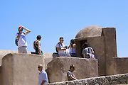 Tourists visiting the Citadel.