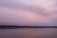 Morning dawns on the Naknek River, King Salmon, Alaska