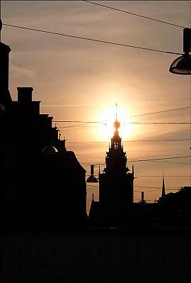 Nederland, Nijmegen, 23-7-2015 De St Stevenskerk en de stevenstoren is na een grondige restauratie, renovatie, weer in volle glorie te zien.Foto: Flip Franssen/Hollandse Hoogte