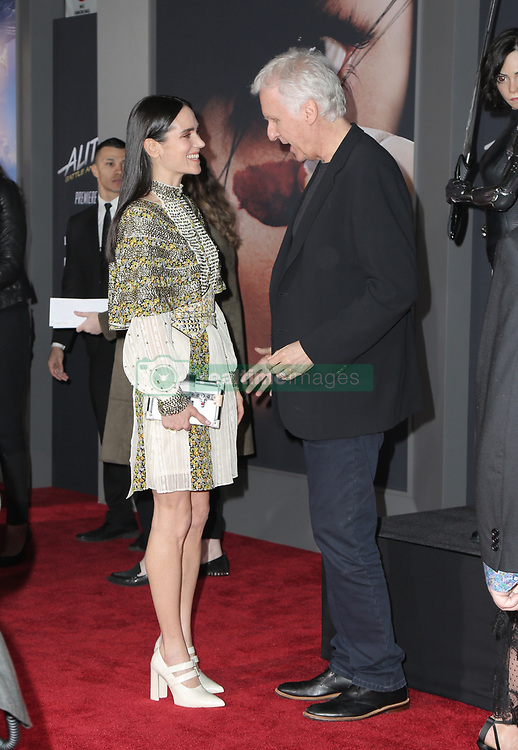 Celebrities attend the premiere of 20th Century Fox's 'Alita: Battle Angel' at Westwood Regency Theater on February 05, 2019 in Los Angeles, California. 05 Feb 2019 Pictured: James Cameron, Jennifer Connelly. Photo credit: @parisamichelle / MEGA TheMegaAgency.com +1 888 505 6342