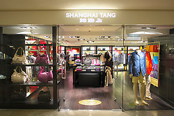 Shanghai Tang Chic Chinese fashion store in Pacific Place Hong Kong