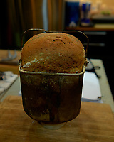 Savory Herb Bread. Image taken with a Leica CL camera and 23 mm f/2 lens