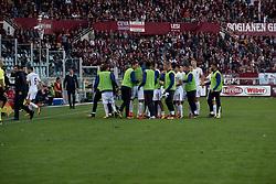 October 22, 2017 - Turin, Piemonte/Torino, Italy - Aleksandar Kolarov and AS Roma celebretes the gol against Torino during the Seire A Match Torino FC va As Roma. Roma wins 0-1. Turin, 22th october 2017  (Credit Image: © Albertogandolfo/Pacific Press via ZUMA Wire)