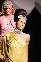 Genevieve walks the runway  at the Christian Dior Cruise Collection 2008 Fashion Show