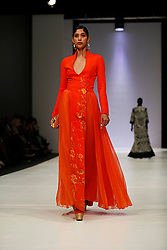 241018 2nd day of SA Fashion week took place as they were also celebrating their 21st birthday in Sandton Johannesburg South Africa.The theme on this particular show was BRICS.Designers from the BRICS member countries show cased on this day.Photo Simphiwe Mbokazi African News Agency/ANA f
