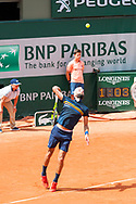 Bruno Paire (fra) during the Roland Garros French Tennis Open 2018, day 2, on May 28, 2018, at the Roland Garros Stadium in Paris, France - Photo Pierre Charlier / ProSportsImages / DPPI