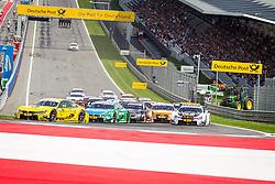 03.08.2014, Red Bull Ring, Spielberg, AUT, DTM Red Bull Ring, Renntag, im Bild Timo Glock, (GER, 3. Platz, Rennen, Deutsche Post BMW M4 DTM), Augusto Farfus, (BRA, 2. Platz, Rennen, Castrol EDGE BMW M4 DTM), Marco Wittman, (GER, 1. Platz, Rennen, Ice-Watch BMW M4 DTM), Robert Wickens, (CAN,1. Platz Qualifying, FREE MAN'S WORLD Mercedes AMG C-Coupe) // during the DTM Championships 2014 at the Red Bull Ring in Spielberg, Austria, 2014/08/03, EXPA Pictures © 2014, PhotoCredit: EXPA/ M.Kuhnke