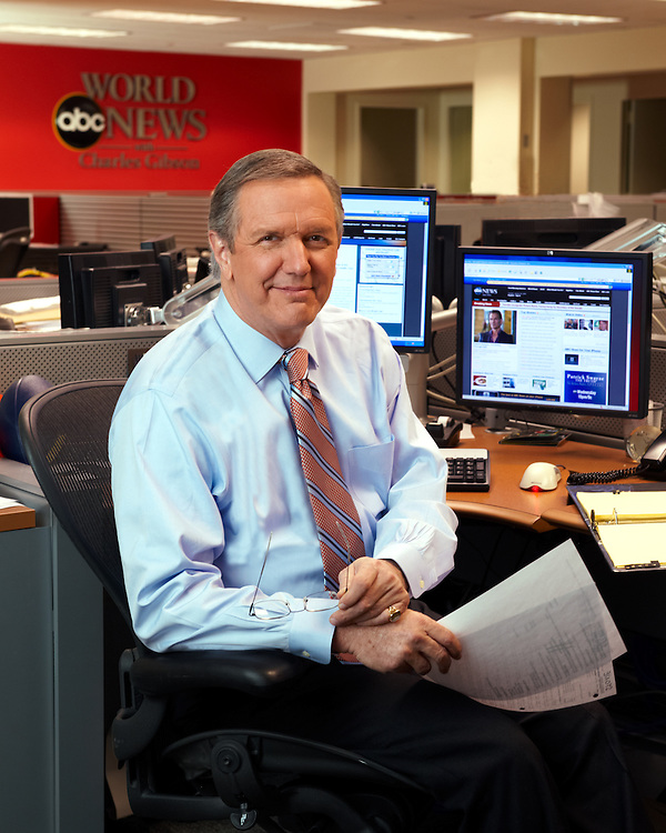 Charlie Gibson, TV journalist and anchorman
