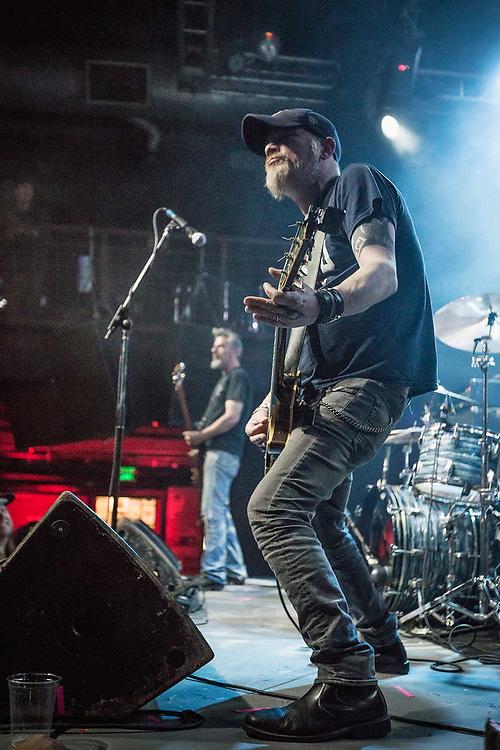 Music Photographer Raymond Rudolph documents rock band Karma to Burn play a concert in San Francisco