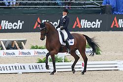Oatley Lyndal (AUS) - Potifar<br /> Alltech FEI World Equestrian Games <br /> Lexington - Kentucky 2010<br /> © Dirk Caremans