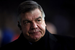 Everton manager Sam Allardyce during the Premier League match at The Hawthorns, West Bromwich.