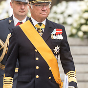 LUX/Luxemburg/20190504 - Funeral of HRH Grand Duke Jean/Uitvaart Groothertog Jean, Koning Carl Gustaf van Zweden