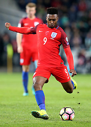 Daniel Sturridge of England shoots at goal - Mandatory by-line: Robbie Stephenson/JMP - 11/10/2016 - FOOTBALL - RSC Stozice - Ljubljana, England - Slovenia v England - World Cup European Qualifier