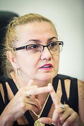 A doutora em Sociologia e Economia Internacional pela Universidade Complutense de Madri (Espanha), Susana Kakuta, diretora-presidente do Badesul - Agência de Fomento. Foto: Jefferson Bernardes/ Agência Preview