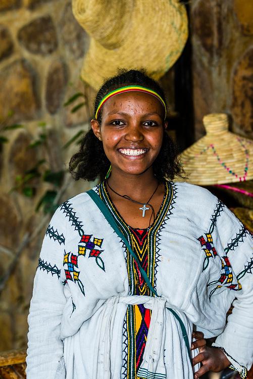 Four Sisters Restaurant, Gondar, Ethiopia.