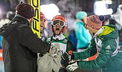 30.12.2018, Schattenbergschanze, Oberstdorf, GER, FIS Weltcup Skisprung, Vierschanzentournee, Oberstdorf, 2. Wertungsdurchgang, im Bild Jubel von Markus Eisenbichler (GER) // Markus Eisenbichler of Germany during his 2nd Competition Jump for the Four Hills Tournament of FIS Ski Jumping World Cup at the Schattenbergschanze in Oberstdorf, Germany on 2018/12/30. EXPA Pictures © 2018, PhotoCredit: EXPA/ Peter Rinderer