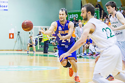 Zeljko Zagorac (C) of KK Helios Suns during basketball match between KK Zlatorog and KK Helios Suns in 1st match of Nova KBM Slovenian Champions League Final 2015/16 on May 29, 2016  in Dvorana Zlatorog, Lasko, Slovenia.  Photo by Ziga Zupan / Sportida