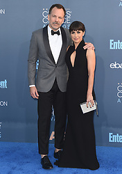 Stars attend the 22nd Annual Critics Choice Awards in Santa Monica, California. 11 Dec 2016 Pictured: Russ Lamoureux, Constance Zimmer. Photo credit: Bauer Griffin / MEGA TheMegaAgency.com +1 888 505 6342