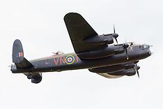 2017-07-04 Lancaster bomber leaves IWM Duxford