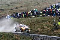 MOTORSPORT - WORLD RALLY CHAMPIONSHIP 2010 - WALES RALLY GB / RALLYE DE GRANDE-BRETAGNE - CARDIFF (GBR) - 11 TO 14/11/2010 - PHOTO : ALEXANDRE GUILLAUMOT / DPPI - <br /> PETTER SOLBERG (NOR) / CHRIS PATTERSON (GBR) - CITROËN C4 WRC - PETTER SOLBERG WORLD RALLY TEAM - ACTION
