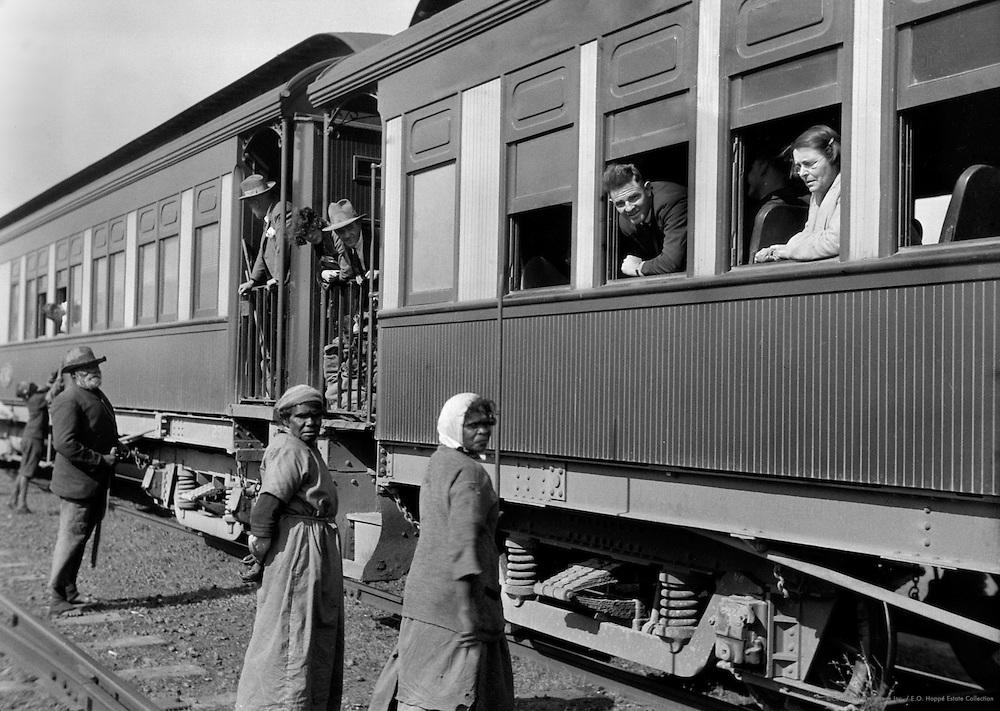 Supply Train, Trans Australian Line, Western Australia, 1930