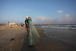 July 6, 2018 - Gaza City, Gaza Strip, Palestinian Territory - Palestinians enjoy their time at the sea coast of Gaza City, July 06, 2018  (Credit Image: © Mahmoud Ajour/APA Images via ZUMA Wire)
