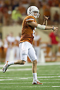 AUSTIN, TX - SEPTEMBER 14: Case McCoy #6 of the Texas Longhorns throws a pass against the Mississippi Rebels on September 14, 2013 at Darrell K Royal-Texas Memorial Stadium in Austin, Texas.  (Photo by Cooper Neill/Getty Images) *** Local Caption *** Case McCoy