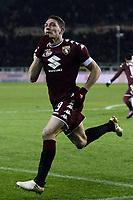 Torino 16-01-2017 Stadio Olimpico Grande Torino Football Calcio Serie A  2016/2017 Torino - Milan foto Daniele Buffa/Image Sport/Insidefoto<br /> esultanza gol Andrea Belotti Torino 1-0 Goal celebration