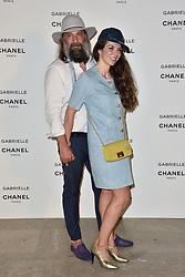 "Sebastien Tellier, Amandine de La Richardiere attending the party for the new Chanel perfume ""Gabrielle"", at the Palais de Tokyo in Paris, France, on July 4, 2017. Photo by Alban Wyters/ABACAPRESS.COM"