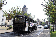 School bus fire, Culross, 2 June 2021