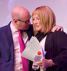 UKIP 2015 Spring Conference at the Winter Gardens Margate, Great Britain <br /> 28th February 2015 <br /> <br /> Paul Nuttall <br /> <br /> & <br /> <br /> Kellie Maloney <br /> formerly Frank Maloney <br /> <br /> <br /> <br /> Photograph by Elliott Franks <br /> Image licensed to Elliott Franks Photography Services