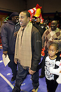 """Ludacris aka Chris Bridges at The Ludacris Foundation's Holiday Party co-sponsored by Alize at the Mount Vernon Boys Club on December 18, 2008 in Mount Vernon, New York..Chris """"Ludacris"""" Bridges, William Engram and Chaka Zulu were the inspiration for the development of The Ludacris Foundation (TLF). The foundation is based on the principles Ludacris learned at an early age: self-esteem, spirituality, communication, education, leadership, goal setting, physical activity and community service. Officially established in December of 2001, The Ludacris Foundation was created to make a difference in the lives of youth. These men have illustrated their deep-rooted tradition of community service, which has broadened with their celebrity status. The Ludacris Foundation is committed to helping youth help themselves"""
