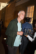 RICHARD LONG, VIP opening  of the new Serpentine Sackler Gallery designed by Zaha Hadid . Kensinton Gdns. London. 25 September 2013