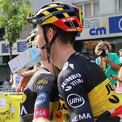 ANDORRA (AND)CYCLING: <br /> 15th stage Tour de France Carcassone-Andorra<br /> Wout van Art