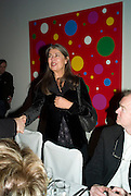 VICTORIA MIRO, Dinner hosted by the Victoria Miro Gallery Serpentine after the opening of the Derek Jarman exhibition curated by isaac Julien. February 2008.  *** Local Caption *** -DO NOT ARCHIVE-© Copyright Photograph by Dafydd Jones. 248 Clapham Rd. London SW9 0PZ. Tel 0207 820 0771. www.dafjones.com.