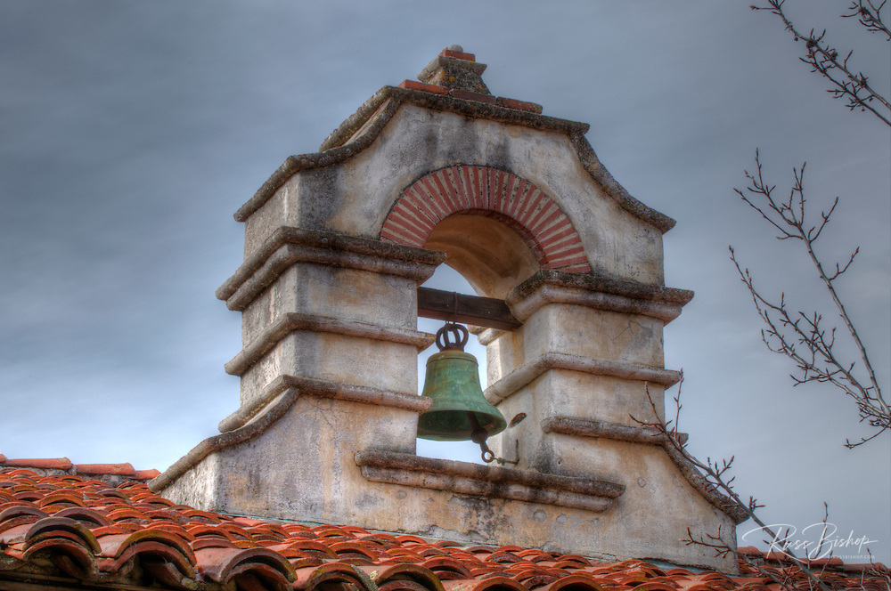 Belltower at Mission San Antonio de Padua (3rd California Mission - 1771), California