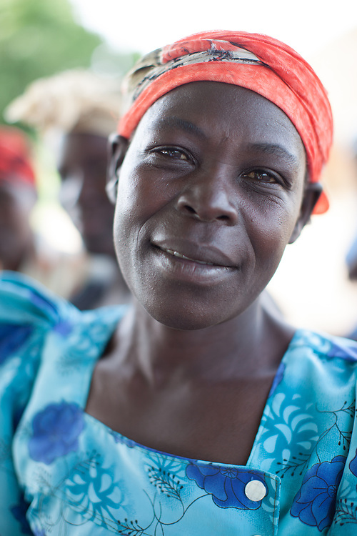 Portrait of a woman in Otubet village, Amuria District, Uganda. World Renew supports projects in the village, from agricultural training to villages savings and loans schemes.