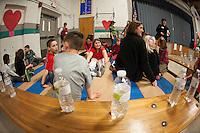 Gilford Elementary School Jump for Heart event February 13, 2013.  Karen Bobotas/for the Laconia Daily Sun
