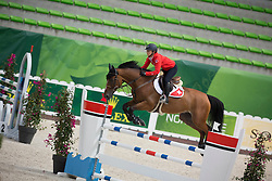 Jane Richard Philips, (SUI), Pablo De Virton - Jumping Official Training Session - Alltech FEI World Equestrian Games™ 2014 - Normandy, France.<br /> © Hippo Foto Team - Dirk Caremans<br /> 01/09/14