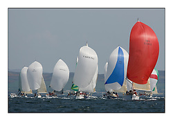 Bell Lawrie Scottish Series 2008. Fine North Easterly winds brought perfect racing conditions in this years event...IRC Class 2 GBR6969T, Grand Cru, Jamie McGarry, First 40.7..North Star