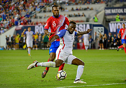 September 1, 2017 - Harrison, NJ, USA - Harrison, N.J. - Friday September 01, 2017:   Jozy Altidore during a 2017 FIFA World Cup Qualifying (WCQ) round match between the men's national teams of the United States (USA) and Costa Rica (CRC) at Red Bull Arena. (Credit Image: © Howard Smith/ISIPhotos via ZUMA Wire)