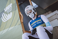 02.01.2021, Bergiselschanze, Innsbruck, AUT, FIS Weltcup Skisprung, Vierschanzentournee, Innsbruck, Qualifikation, im Bild Mackenzie Boyd Clowes (CAN) // Mackenzie Boyd Clowes of Canada before his Qualification Jump for the Four Hills Tournament of FIS Ski Jumping World Cup at the Bergiselschanze in Innsbruck, Austria on 2021/01/02. EXPA Pictures © 2020, PhotoCredit: EXPA/ JFK