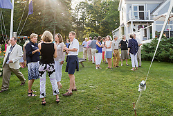 FOCB summer fundraiser hosted in Freeport, Maine at the home of Scott and Joan Samuelson