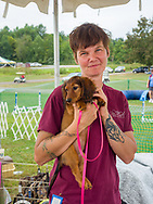 Dog Training Center and Rescue dogs at the Ludwig's Corner Horse Show.